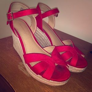 American Eagle Outfitters espadrille wedges